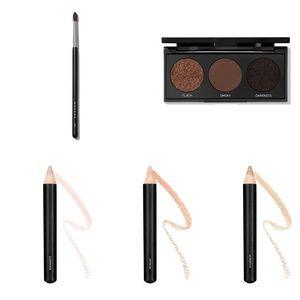 NEW Morphe eyeshadow, brow and brush set